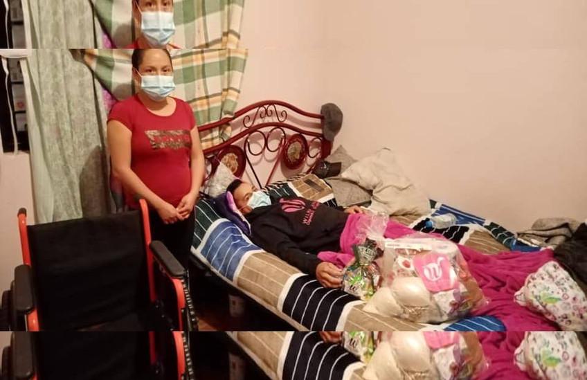Familia Montes de Oca agradece mucho el apoyo de la Dip. Wilma Zavala