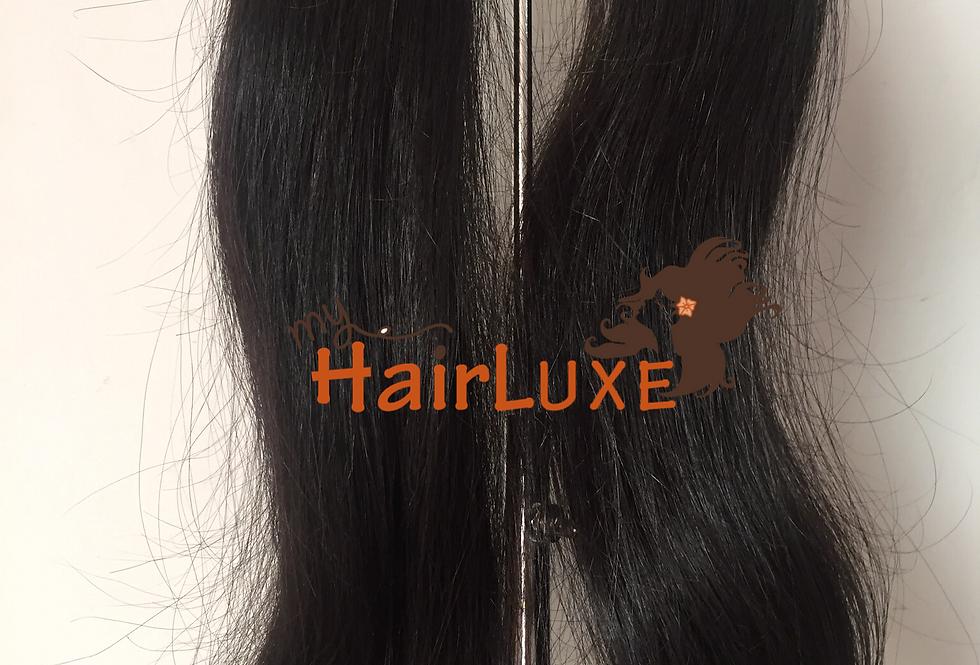 Wholesale Raw Indian straight/slight wavy hair