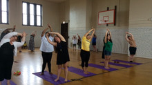 Cameron School Teachers are Living the Yoga Vida