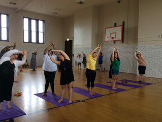 Cameron School Teachers are Living the Yoga Vida