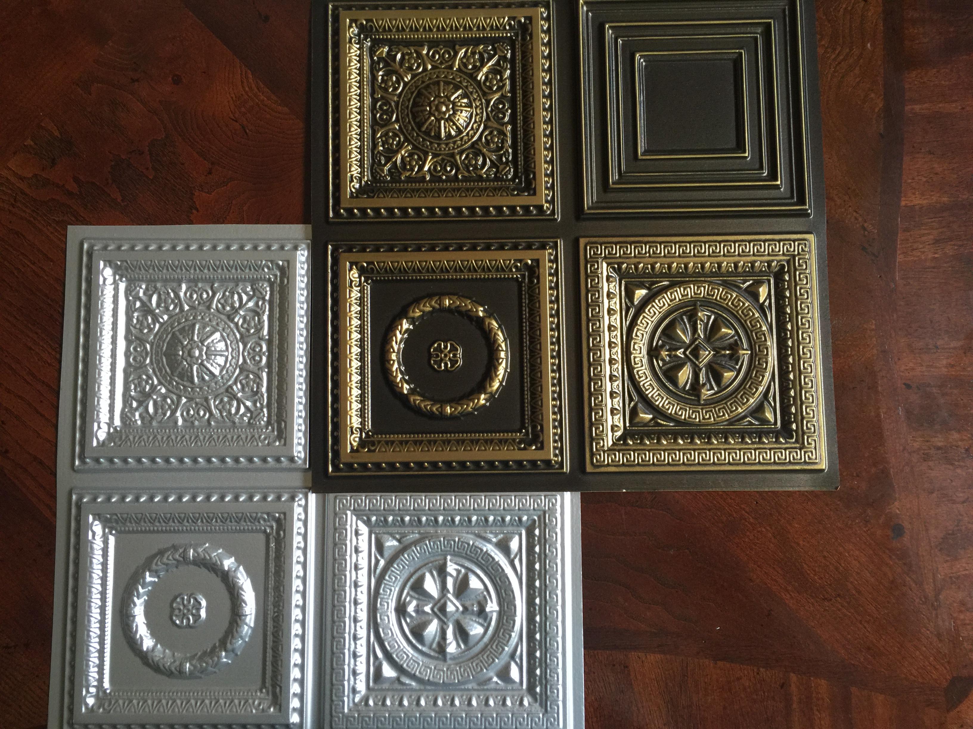 Samples of Ceilings