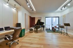 חדר מוסיקה פרטי