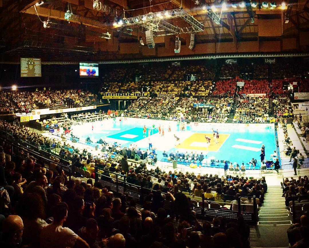 Unipol Arena - Coppa Italia 2017