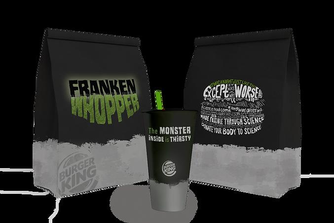 Burger King Halloween Frankenwhopper Copywriting Ellen McMahon Copywriter