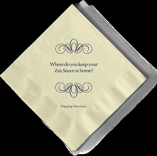 Zaxby's Zax Sauce Ellen McMahon Copywriter Dipping Decorum