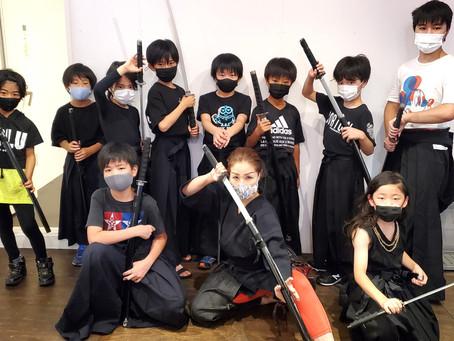 子供 剣舞