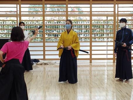 剣舞 刀を習う
