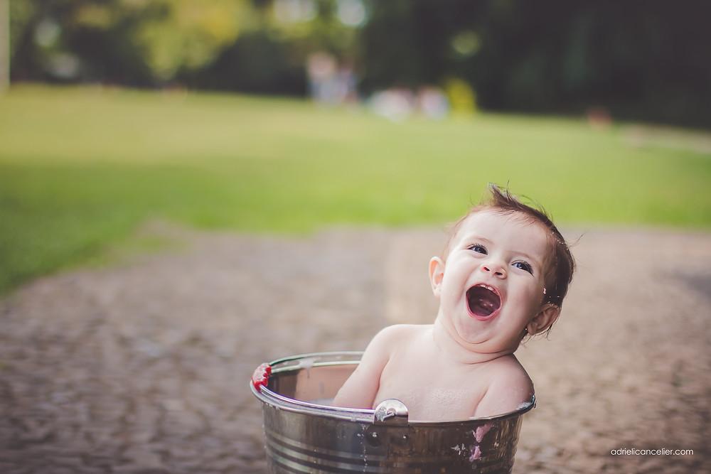 banho do bebê
