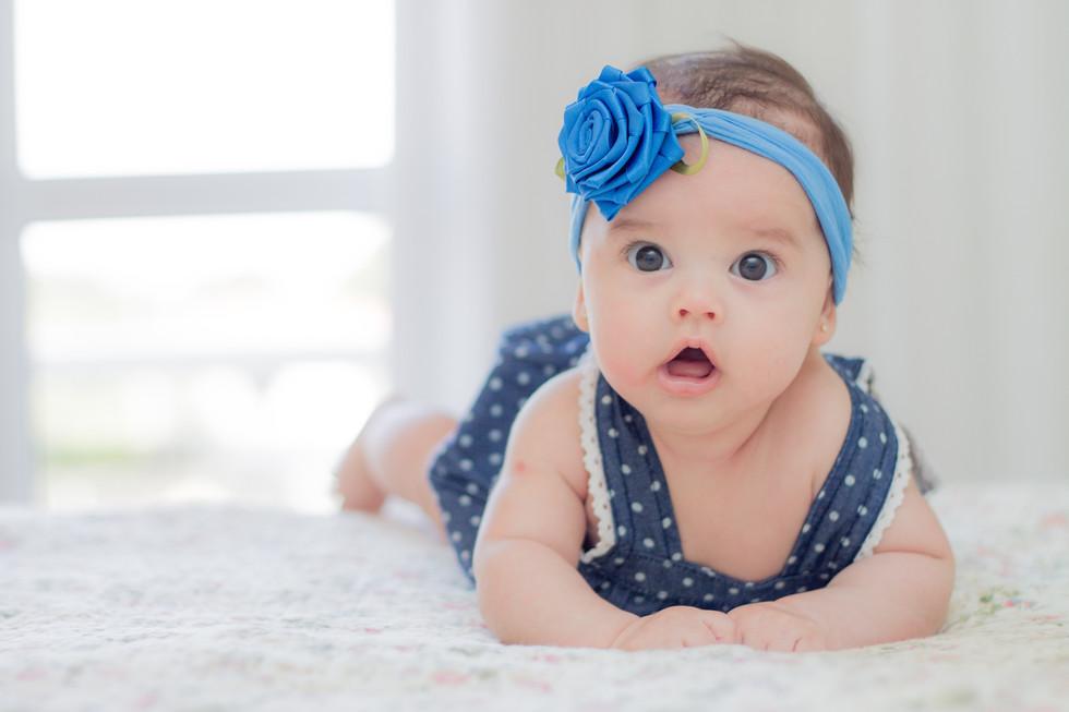 acompanhamento mensal de bebê