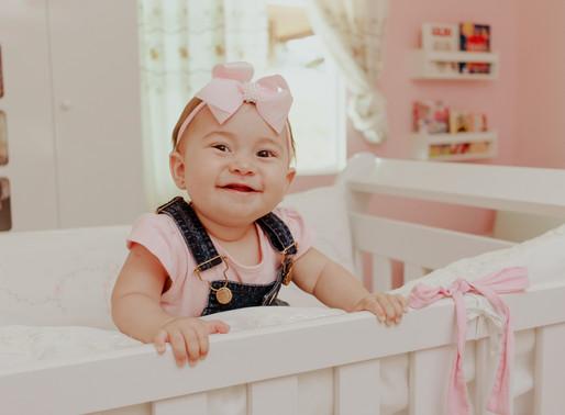 8 meses da Rebeca