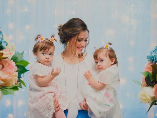 Aniversário de 1 ano da Aurora e da Martina