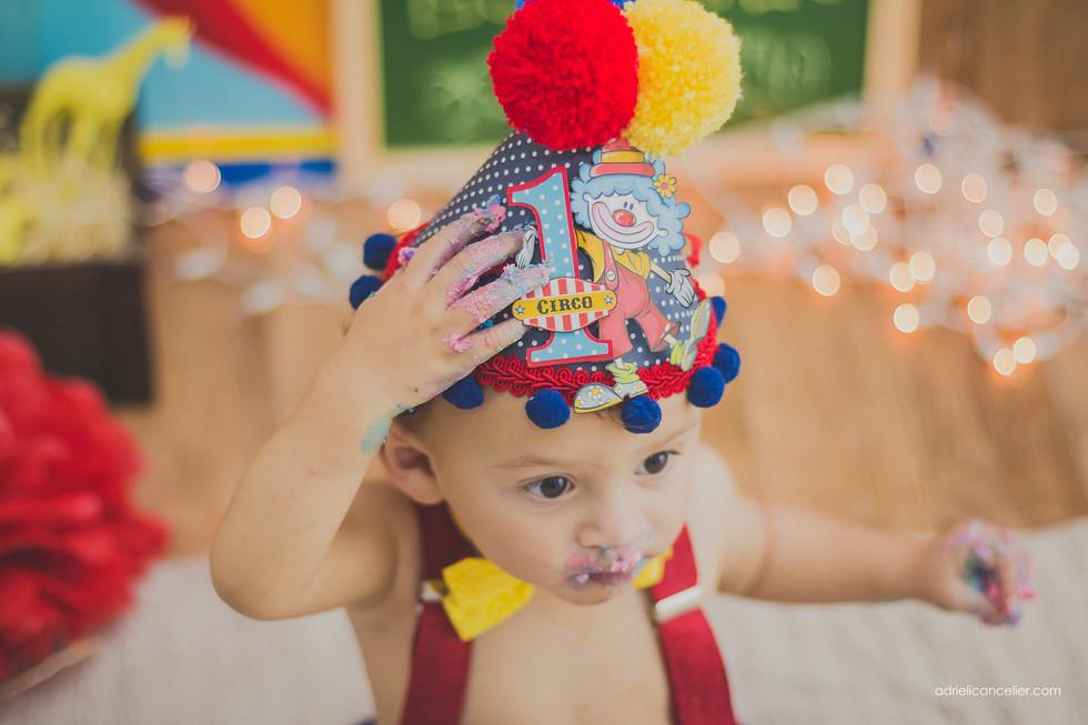 smash the cake circo curitiba