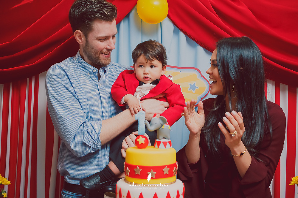 aniversário infantil de 1 ano em Curitiba