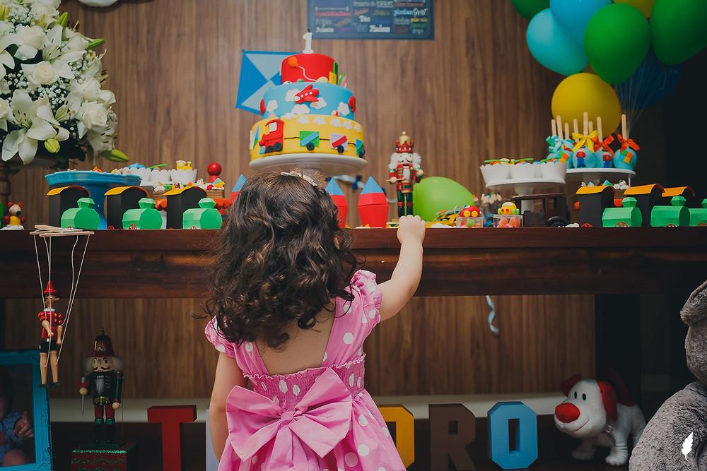 fotografia infantil em curitiba - adrieli cancelier - festa infantil - decoração de menino