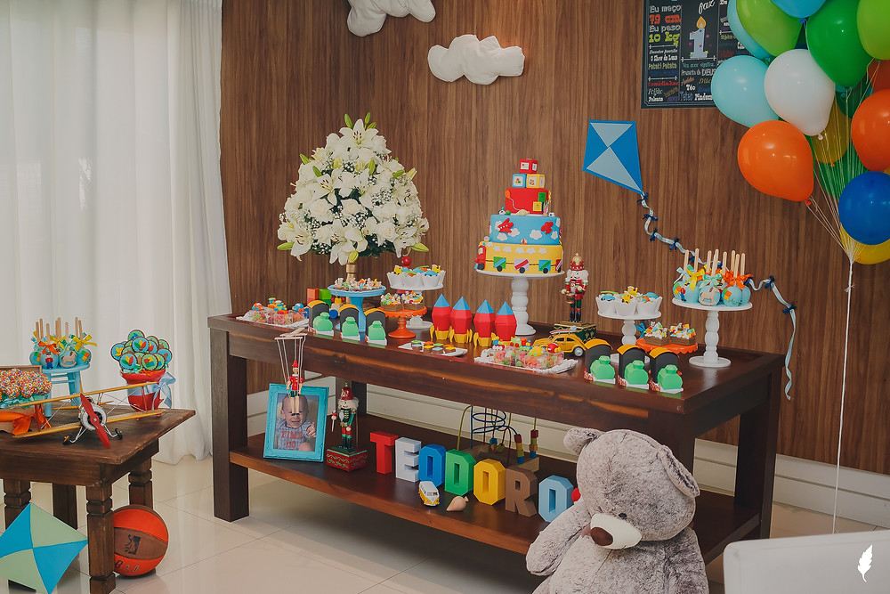 decoração de festa infantil - Celebration Eventos e Buffet