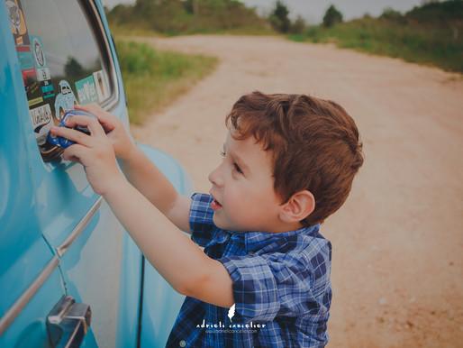 Fotografia Infantil em Curitiba | Bernardo - 3 anos