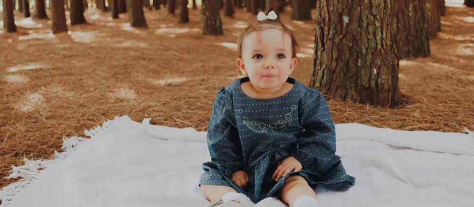 Helô - Ensaio fotográfico de 1 ano