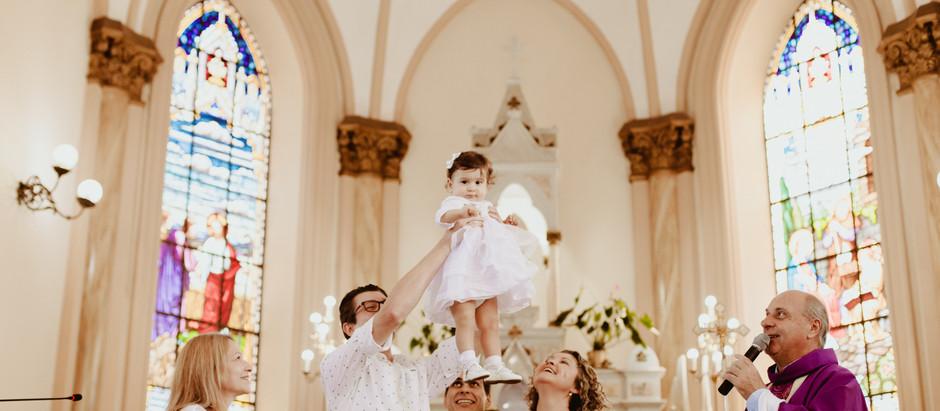O batismo da Maria Teresa