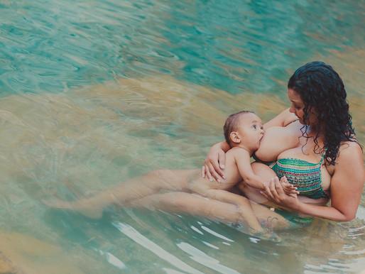 Gestação natural, família feliz