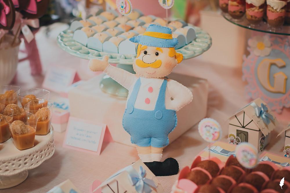 decoração diferente festa infantil