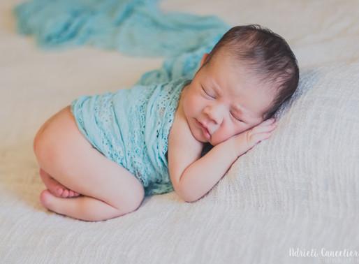 [Vinicius] 10 dias - Ensaio newborn em casa | Recém-Nascido em Criciúma