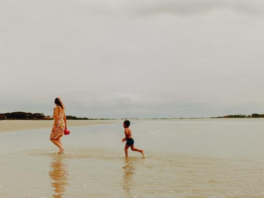 Beto na Ilha do Mel