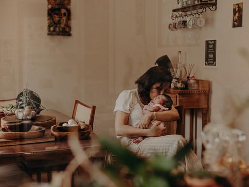 Um sonho de ano novo - Ensaio Newborn Lifestyle