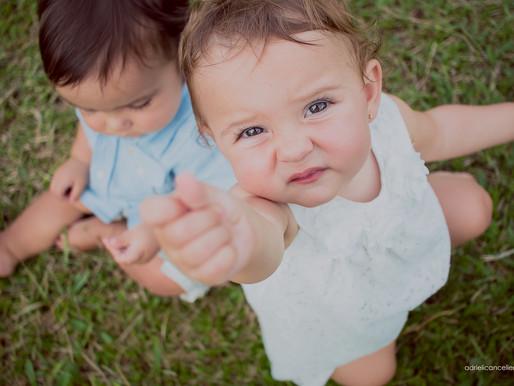Gêmeos Isabella e Felipe | Parte 2 | Fotografia de Bebê em Curitiba