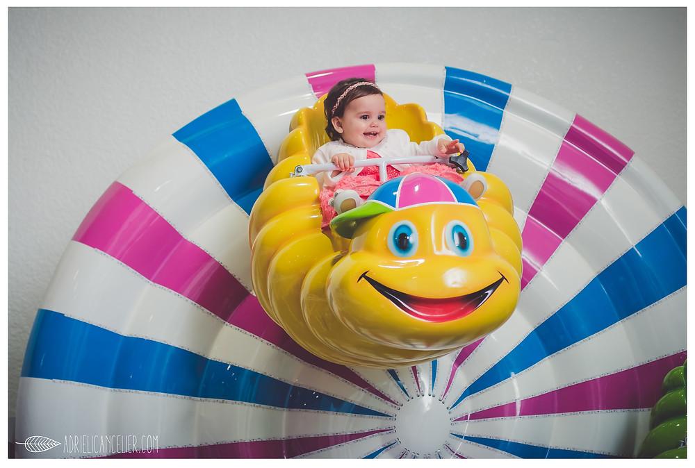 [Fotografia de festa infantil em Curitiba] Aniversário de 1 ano da Estella