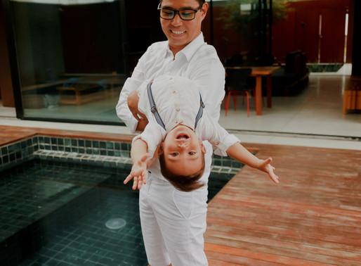 Rafa e Vicente, os nossos japinhas - 1 ano do Vicente