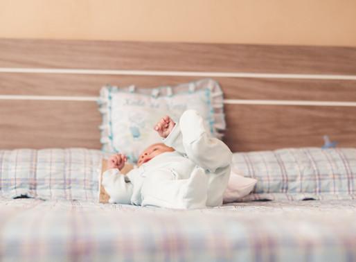Ensaio fotográfico de bebê em Curitiba | Em casa [Lorenzo] 2 meses