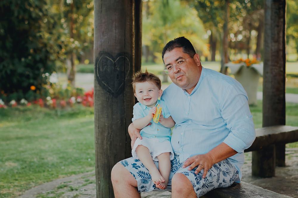 ensaio fotográfico de 1 ano em São José dos Pinhais