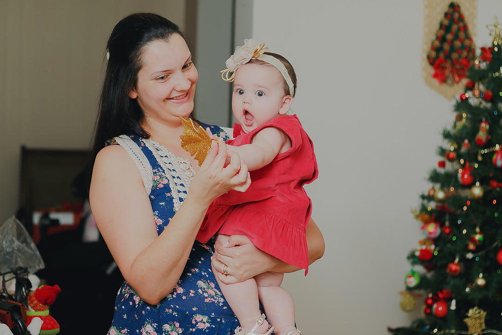 mini ensaio de natal em casa curitiba