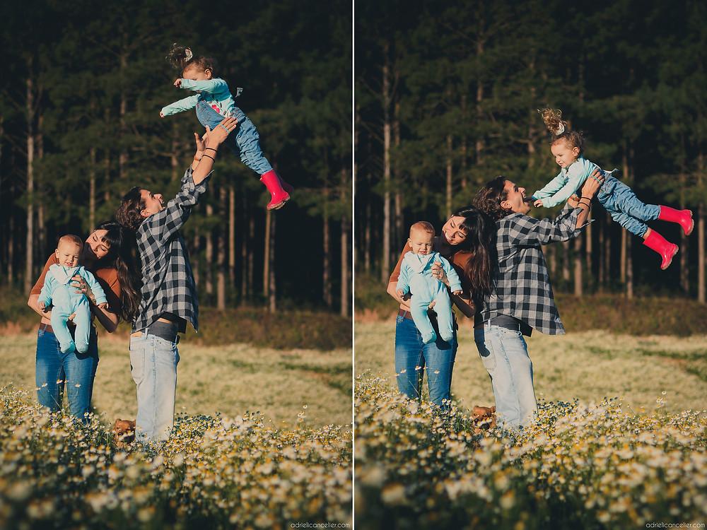fotografia de família em Curitiba por Adrieli Cancelier | ensaio de família