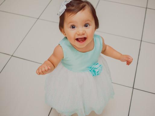 Malu, 1 ano | Buffet Girafa de Gravata