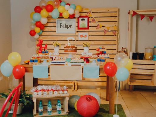 Festa de 1 ano na Cafeteria - Felipe