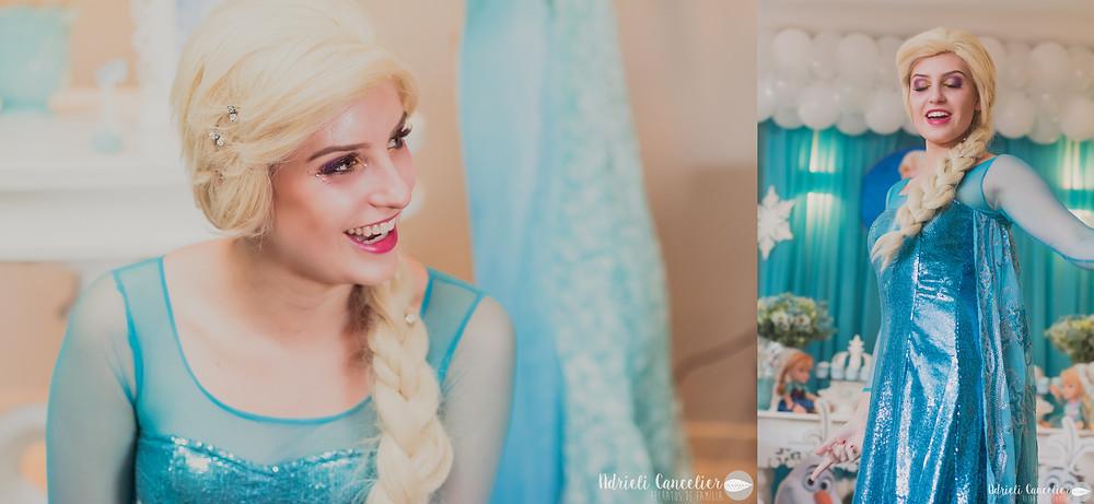 Encantada Personagens | Fotógrafo de Festa Infantil em Curitiba | Aniversário Frozen