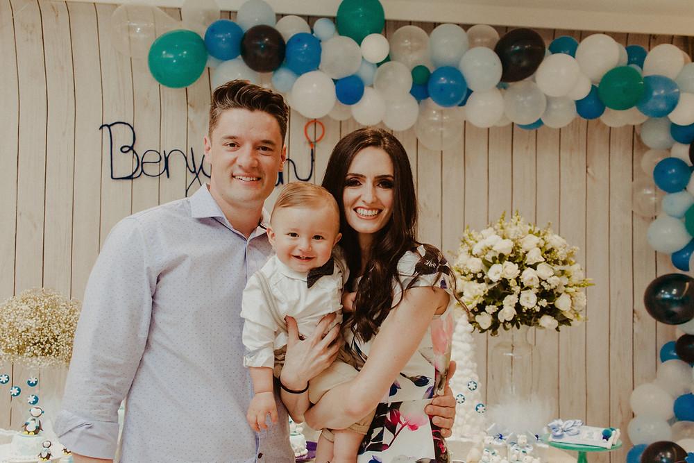 Benjamin 1 ano - festa infantil curitiba