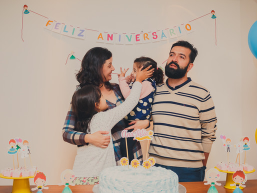 Aniversário de 3 anos Ana Júlia