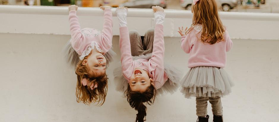 O caos com as gêmeas   Alice, Aurora e Martina