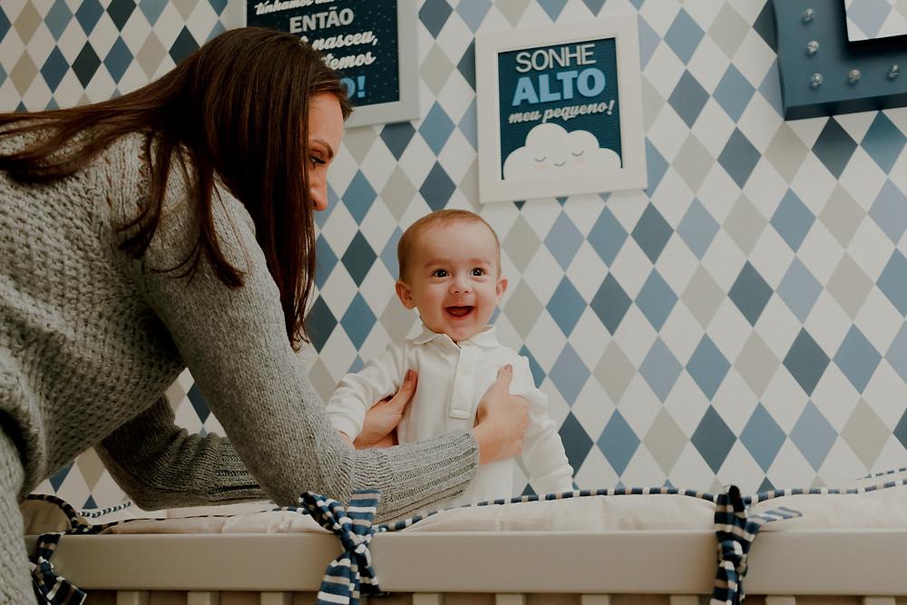 ensaio fotografico de bebe 6 meses em curitiba