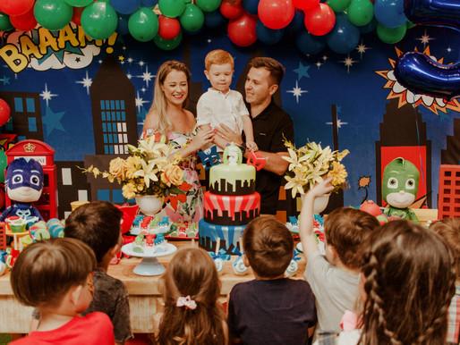 Festa Infantil de 5 anos em Curitiba | Lucas