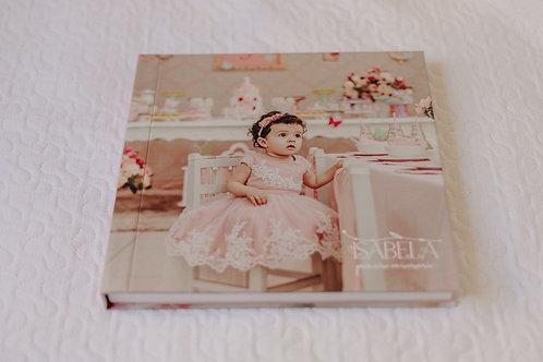Fotolivro 30x30cm com 20 páginas