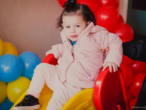 Fotografia de festa infantil em Curitiba   Aniversário de 2 anos da Helena