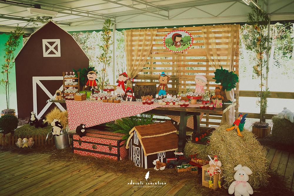 festa infantil na Vila dos Animais Curitiba