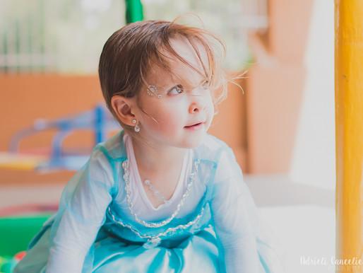 Fotografia de festa infantil | Aniversário da Sophia, 3 anos | Frozen