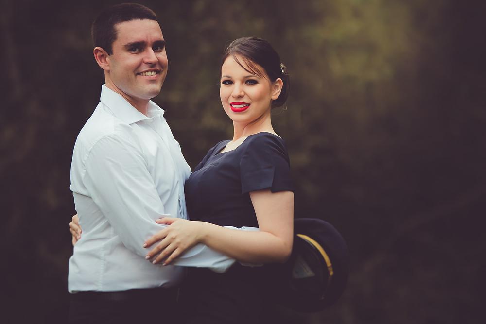 Book fotográfico de casal em Curitiba ao ar livre