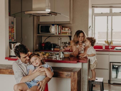Fotografia de família - Maya e Thomas