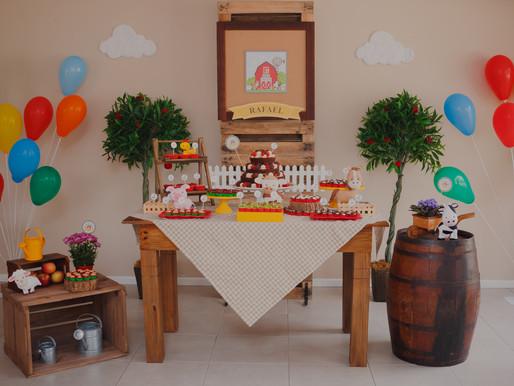 Rafael faz 2 | Festa infantil no salão do prédio