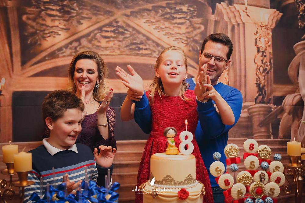 4 kids buffet infantil curitiba - 8 anos da sophia